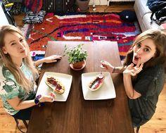 👯♀️🌱💕 Cheers to friends who love vegan smoothie bowls as much as you do! @tehrene and I loved the new recipe and can't wait to share soon!  #vegan #vegancouples #veganfood #plantbased #NYC #beautifulworld #brooklyn #travel #eatforhealth #fruit #plantpower #vegansofig #veganfoodshare #whatveganseat #govegan #vegansofinstagram #veganfortheanimals #healthy #thegreenervoyage #beawake #vegansofiowa #vegansofNYC