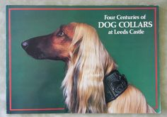 """Antique Dog Collars This rare and hard to find book  is a collection of 63 antique dog  collars presented by Gertrude Hunt  in memory of her husband John  Hunt. The soft cover book was  printed in 1979 and is a 1st edition.  It measures 11 1/2 x 8 1/4""""  Book has 48 pages.  Item #5060  $99.00"""