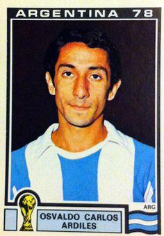 Osvaldo Ardiles, mundial Argentina 1978.