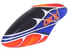 FUC-B130X006 FUSUNO Spiderman Airbrush Fiberglass Canopy - For 130 X Helicopter Type R