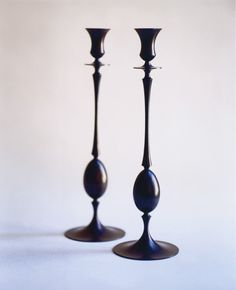 Biederemeier Candlesticks by Ted Muehling