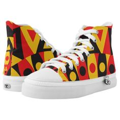 aboriginal tribal High-Top sneakers - individual customized unique ideas designs custom gift ideas