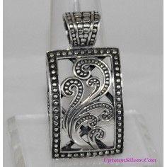 Silpada jewelry live laugh love turquoise white black stones ch silpada artisan jewelry paisley filigree oxidized 925 sterling silver pendant retired rare aloadofball Images