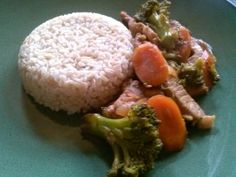 Asian Inspired Pork and Broccoli Stir-Fry. Works well with leftover pork. Tastes professional one taster exclaimed.