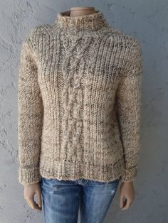 Pullover Knit Sweater 79% Wool by BANANA REPUBLIC - $30