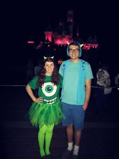 fun and easy disney couples costume---or big and little revelation costumes!!