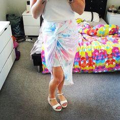 Jordan wears our Sunrise Side Skirt! Shop Tweet's newest arrivals at www.tweettweetfashion.com.au