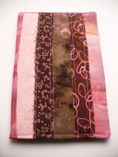 Notebook Patchwork PadfolioPink Passion by BimburBooks on Etsy, $30.00