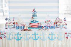 Nautical Birthday Party Ideas | Photo 1 of 18