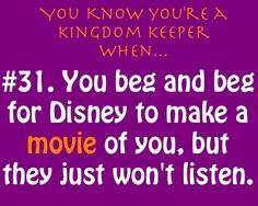 You know you are a kingdom keeper if... - kingdom-keepers Photo