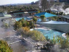 Rotura - Waikite Valley Thermal Pools - between Rotorua & Taupo