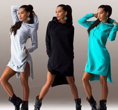 Wish | Women Elegant Sport Sexy Long Sleeve Dress