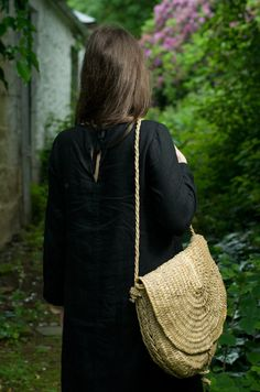 Black Linen Trapeze Dress by KnockKnockLinen on Etsy