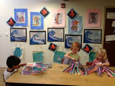 Under the Sea Pre-K studio #sawtoothschool
