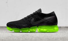 The NIKEiD Air VaporMax colored outsoles option releases on April 20. Nike Exclusive, Nike Vapormax Flyknit, Nike Id, Nike Air Vapormax, Kicks Shoes, Shoe Room, Athletic Shoes, Athletic Gear, Shoe Sites