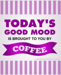 funny coffee pic good mood purple