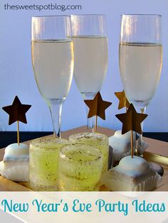 New Year's Eve Party Ideas by The Sweet Spot Blog  #nye #holidays