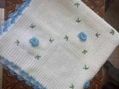 Bu da Yeni biten el emeğim Bebek battaniyesi ve kırlenti