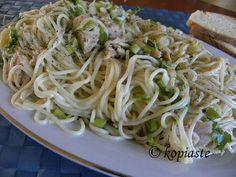 Spaghetti Tuna Aglio e Olio