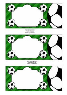 Imprimibles Futbol - www.susaneda.com                                                                                                                                                                                 Más Baseball Party, Soccer Party, Sports Party, Soccer Birthday Parties, Football Birthday, Diy Party Decorations, Party Themes, Party Printables, Free Printables