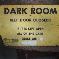 #darkroom #keepitclose #door by chiclydash