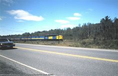 VIA 100 miles north of Toronto          Date: 7/1/1986 Location: Sudbury, ON CA Country Flag   Map Show Sudbury on a rail map Views: 67 Collection Of:   Jack Smith Author:  Jack Smith