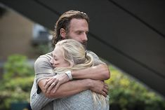 Andrew Lincoln and Emily Kinney in The Walking Dead (2010)