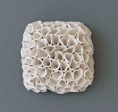 modern sculpture art – The FabMonster Modern Art Sculpture, Organic Sculpture, Hydrangea, Ceramic Sculpture Figurative, Clay Texture, Clay Studio, Slab Pottery, Paperclay, Teaching Art