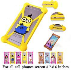 Cute Cartoon hello kitty Batman Stitch SpongeBob Cover Cases For Digma Optima 4.0 4.01 Linx 4.5 4.7 Beeline Smart 2 3 4 5 6 7 8
