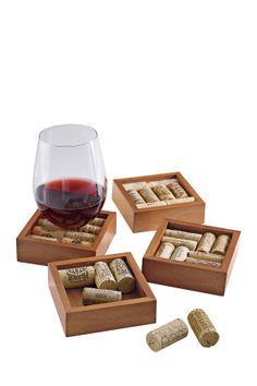 Cuisinart Cork Coasters Kit - Set Of 4 on HauteLook