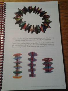 LaGrif Bijoux Geometrie e altre creazioni. Contemporary Geometric Beadwork by Kate Mckinnon. Pag 57 my work Bracciale Millecolori Handmade by LaGrif