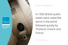 Not very pleasant if you needed to use a public toilet that year