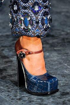 Louis Vuitton F/W RTW 2012; via new york magazine