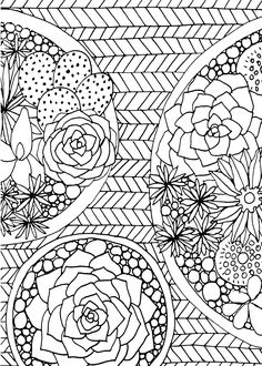 10 Stress Relievers Coloring Pages