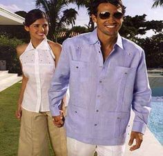 Guayabera Shirts For Men Are The Perfect Choice For A Stylish Summer.
