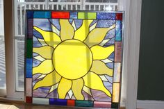 Quilted Sun - by The Tower Wench Gallery. Delphi Artist Gallery