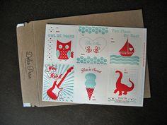 Letterpress Valentine's Day Cards by dolcepress