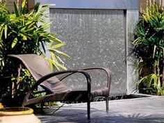 Simple water wall feature.