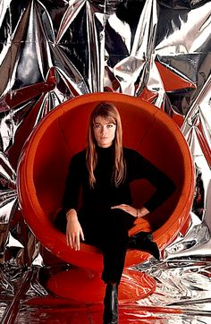 Françoise Hardy by Jean-Marie Périer, Paris, 1967