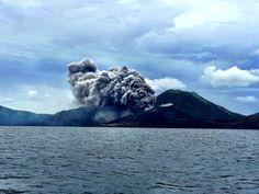 Tavurvur volcano, Papua Nueva Guinea