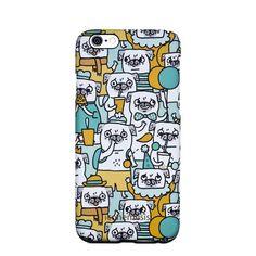 Gemma Correll Pug Case for iPhone 6s / 6, Dog