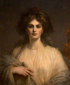 Lady Beatrice Butler (1876–1952), Lady Pole-Carew by Ellis William Roberts