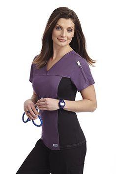 195c0ebd4a3 Mobb Flexi V-Neck Scrub Top #WorkWear #CustomizedUniforms #Uniforms  #Quality #