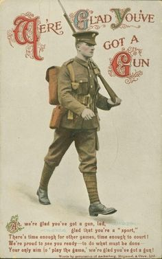 Postcard from the Great War 1914 - 1918