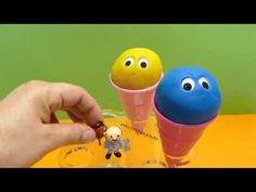 Play Doh Ice Cream Cone Surprise Egg Toys for kids