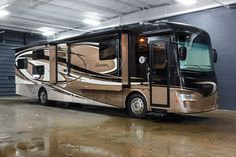 "FAMILY LUXURY!!!  2017 Forest River Berkshire XL 40BH-380 You'll love rolling down the road in this 41' diesel powered 380 horsepower motorhome! Prepped for the addition of a washer and dryer, you can get those clothes spotless after outdoor activities. Keep your campers amused when the weather isn't cooperating with the 42' TV in the living room, 32"" TV in the bedroom, and flip down monitors with DVD players in each of the bunks. Give our Berkshire XL expert Joe Anderson a call 616-420-1460"