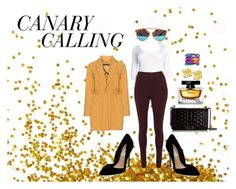 """""""CANARY"""" by crvygrlstyleandshop on Polyvore featuring Manon Baptiste, Rebecca Minkoff, Steve Madden, Fantasia by DeSerio, Dolce&Gabbana, women's clothing, women's fashion, women, female and woman"""