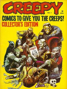 Cover for Creepy (Warren, 1964 series) #1  December 1964