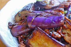 Criss-cross Pan-fried Eggplant recipe on Food52