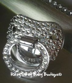 Platinum Blinged out pacifier  $35